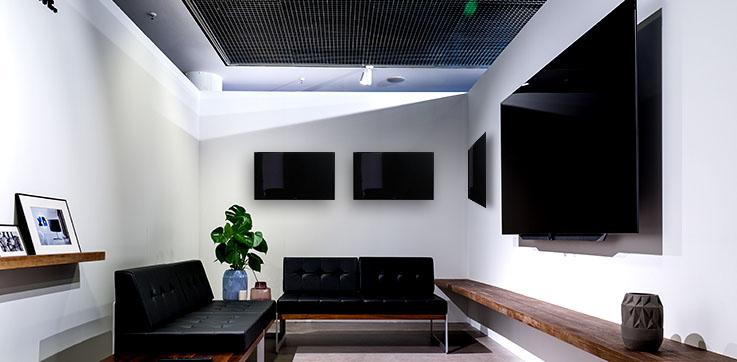 Wall-mounted Flat Screen TVs
